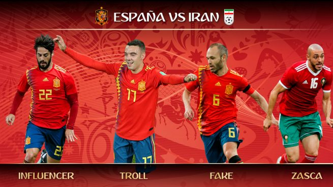 Los trending topics del España – Marruecos