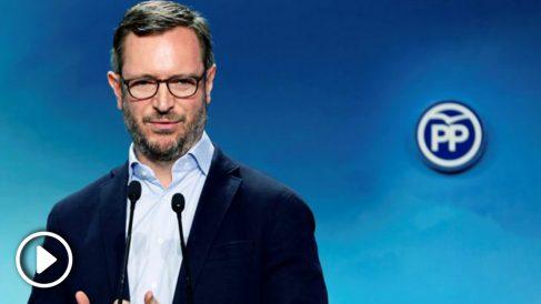 Javier Maroto, vicesecretario de Política Social y Sectorial del PP. (Foto: EFE)