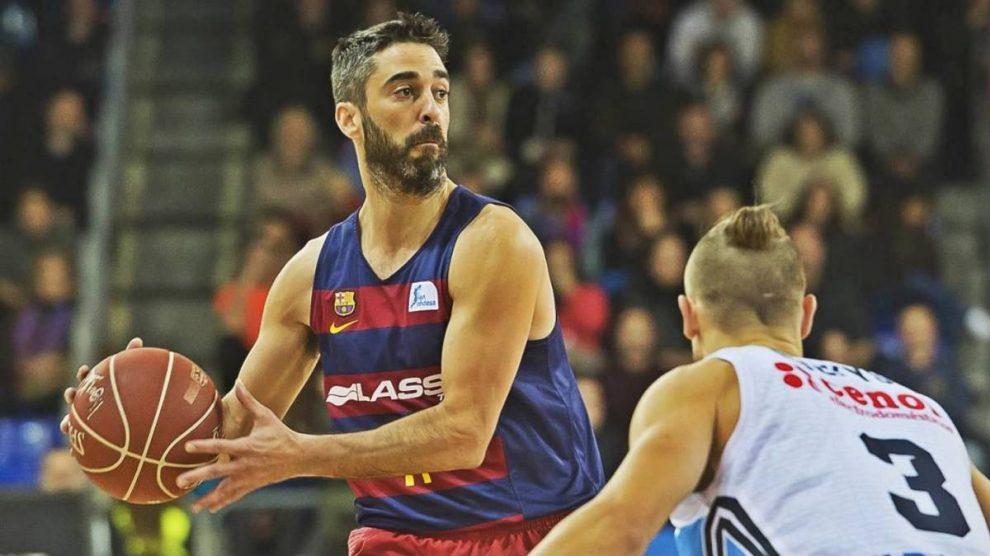 Juan Carlos Navarro, en uno de los últimos partidos que ha disputado con el Barcelona.