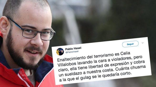 El rapero Pablo Hasel dice que enviar a Celia Villalobos al Gulag «se le quedaría corto»