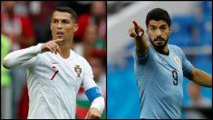 Mundial 2018: Uruguay – Portugal | Horario Mundial de Rusia