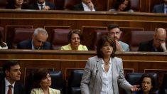Dolores Delgado en el Congreso.