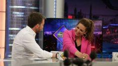 Niña Pastori hoy en 'El Hormiguero'. (Foto: Antena 3)