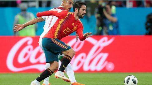 Isco fue el más destacado en el partido contra Marruecos. (Getty)