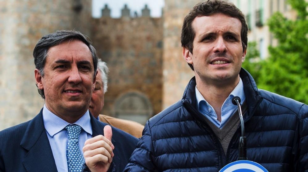 Josera García Hernández y Pablo Casado. (Foto. PP)