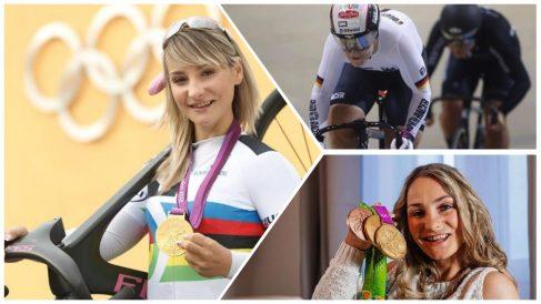 Kristina Vogel es una de las ciclistas más importantes en Alemania.