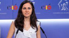 La portavoz adjunta de Unidos Podemos, Ione Belarra. (Foto: Podemos)