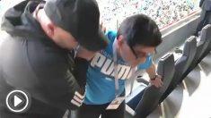 El lamentable estado de Maradona tras el Nigeria – Argentina.