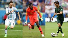 Messi, Francis Uzoho y Leckie, jugadores a seguir en el Mundial 2018. (Getty)