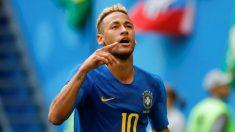 Neymar celebra su gol ante Costa Rica en el Mundial 2018 (Getty). | Fichajes Real Madrid