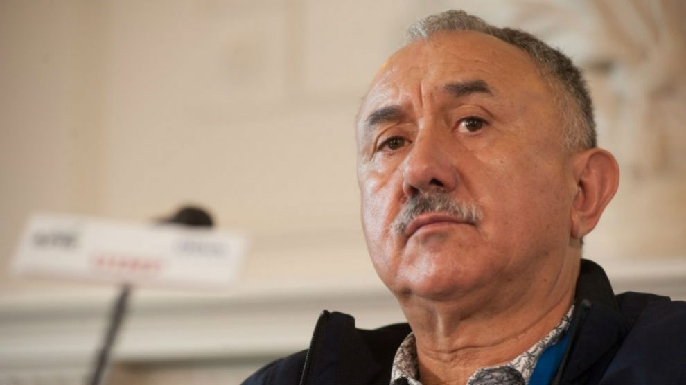 Pepe Álvarez, secretario general de UGT (Foto: Europa Press)