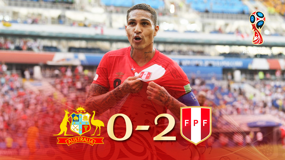 Perú hizo historia tras vencer a Australia.
