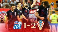Croacia no tuvo piedad de una Islandia que tenía opciones de pasar si ganaba.