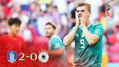Corea ganó a Alemania en el Mundial.