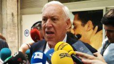 El candidato a presidir el PP José Manuel García-Margallo. Foto: Europa Press