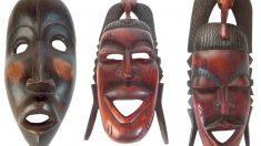 Las máscaras africanas.