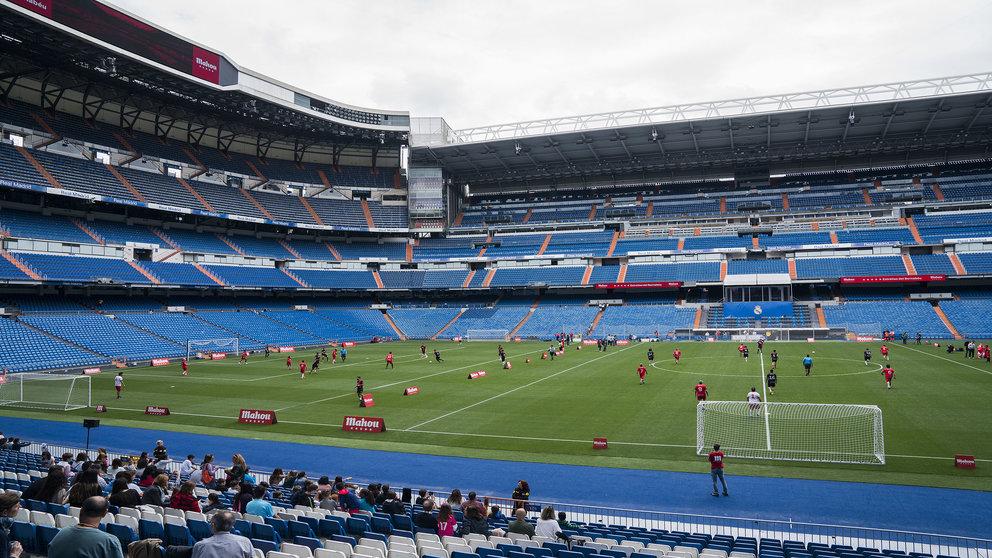 Vista del Santiago Bernabéu