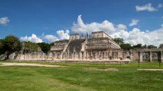 Los monumentos mayas en buena conservación.