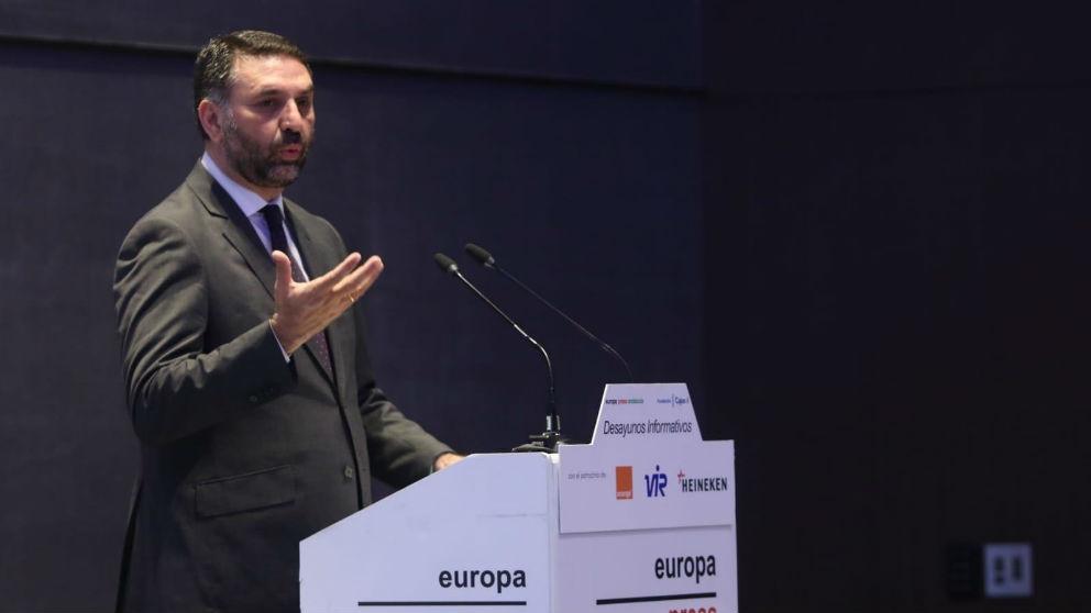 El consejero de Turismo y Deporte de la Junta de Andalucía, Francisco Javier Fernández (Foto: Europa Press)