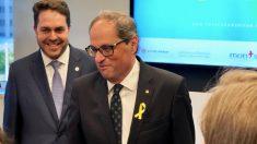 Quim Torra en el Catalonia America Council en Washington. (Foto: CAC)