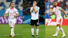 Shaqiri, Werner e Ivanovic, jugadores a seguir hoy en el Mundial 2018. (Getty)
