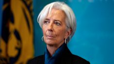 Christine Lagarde, todavía directora general del FMI