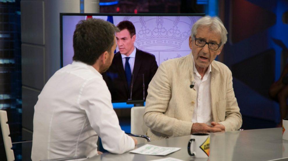 José Sacristán ha estado divirtiéndose en 'El Hormiguero'