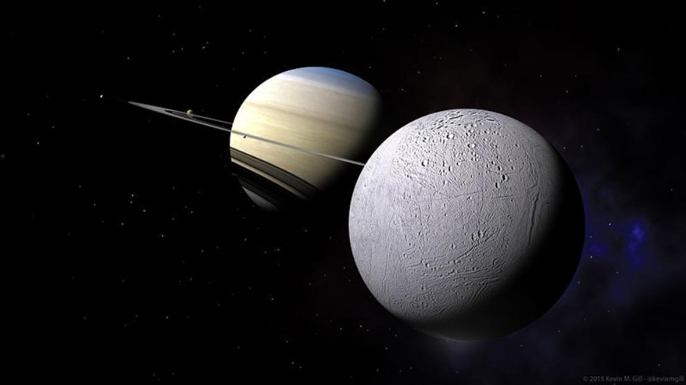 Encélado podría tener vida alienígena