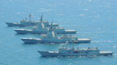 Fragatas F-100 que Navantia no construirá para la Marina de Australia