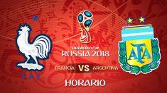 Mundial 2018: Francia – Argentina | Horario Mundial de Rusia.