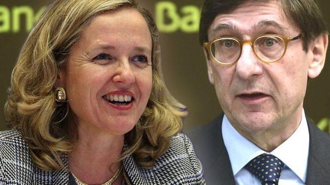 Calviño garantiza a Goirigolzarri su continuidad y acuerdan un stand-by en el proceso de venta de Bankia