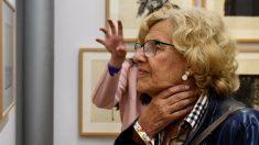 Manuela Carmena en una exposición. (Foto. Madrid)