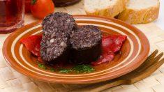 Receta de morcilla de Burgos al horno fácil de preparar