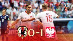 Japón perdió contra Polonia pero se mete en octavos por el juego limpio.