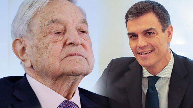 George Soros Pedro Sánchez