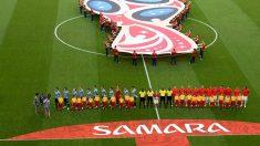 Uno de los partidos del Mundial jugados en Samara. (Getty)
