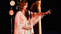La cantante Florence Welch, líder de la banda británica indie Florence and the machine.
