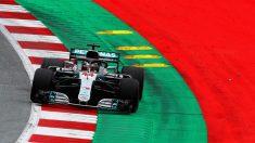 Lewis Hamilton ha marcado el mejor tiempo de los Libres 1 del GP Austria F1, con Sainz y Alonso fuera del 'top 10'. (Getty)