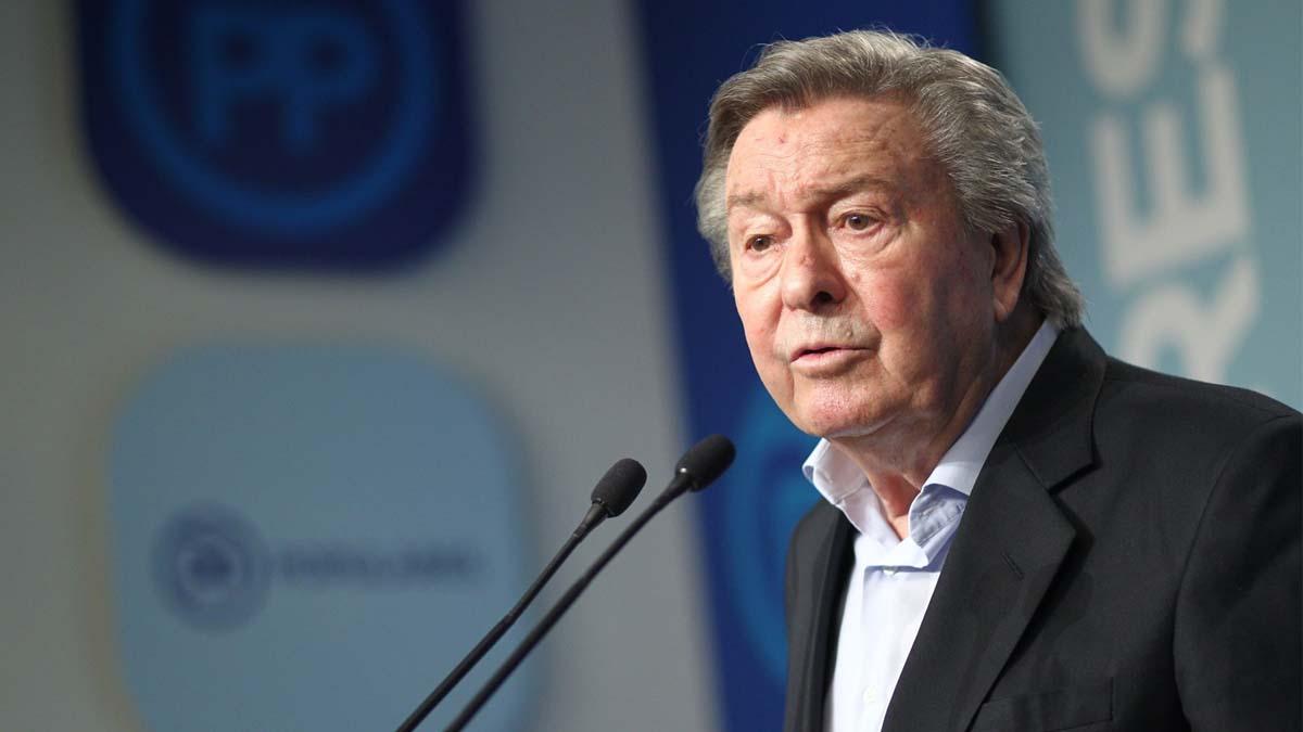 Luis de Grandes, presidente de la Comisión Organizadora de las Primarias del PP. Foto: Europapress