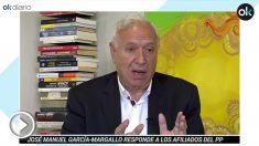 José Manuel García-Margallo en la entrevita con OKDIARIO