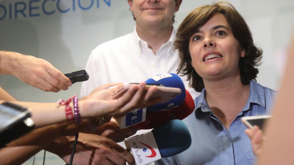 Soraya Sáenz de Santamaría (RRSS).