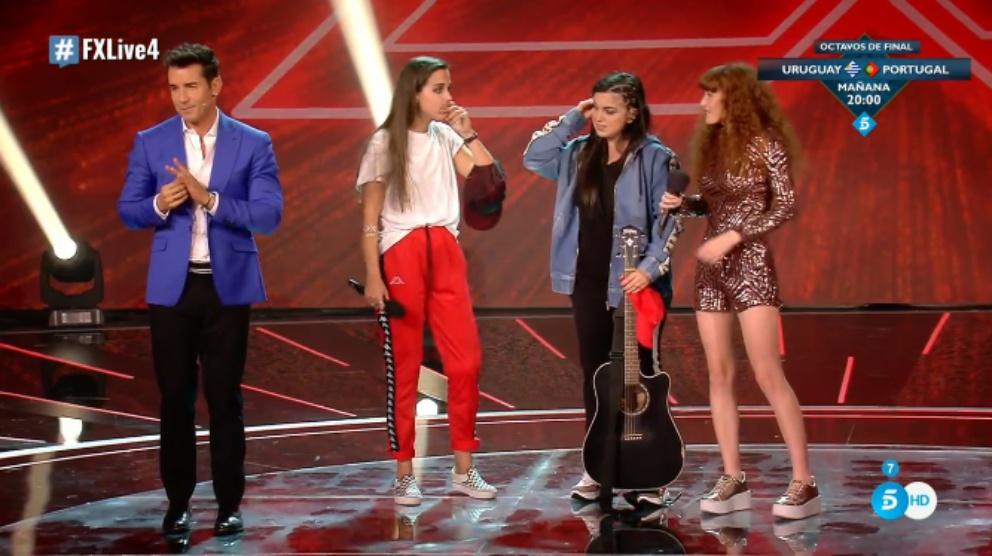 Wcaps, finalistas de 'Factor X'