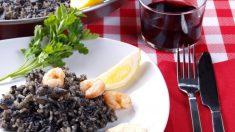 Receta de Arroz negro con sepia fácil de preparar