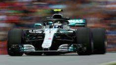 Valtteri Bottas ha logrado la pole position para el Gran Premio de Austria de Fórmula 1, por delante de Lewis Hamilton y Sebastian Vettel. (Getty)