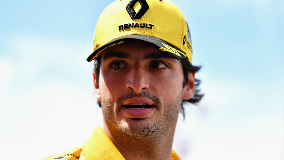 Carlos Sainz ha finalizado en noveno lugar la clasificación del GP de Austria de Fórmula 1, dominando en todo momento a su compañero de equipo Nico Hulkenberg. (Getty)