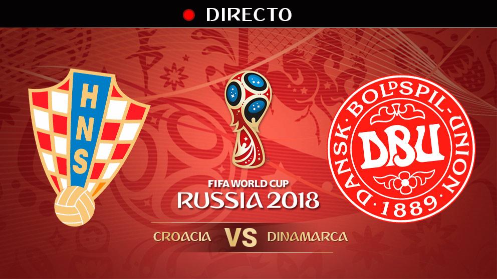 Mundial 2018: Croacia – Dinamarca | Mundial de Rusia en directo.