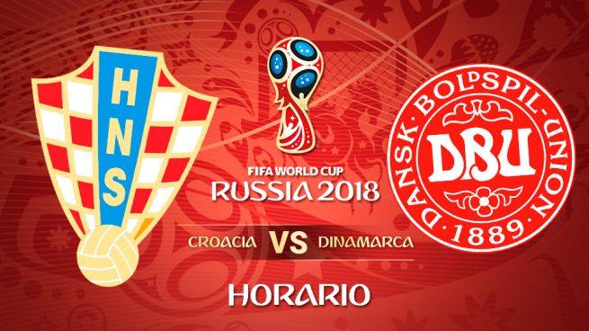 Croacia – Dinamarca: Hora y dónde ver el partido del Mundial 2018