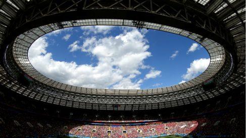 Estadio Luzhniki. (Getty))
