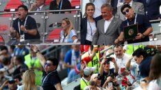 El veto de las televisiones no evitó el show de Maradona.