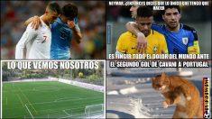 Los mejores memes del Uruguay – Portugal.